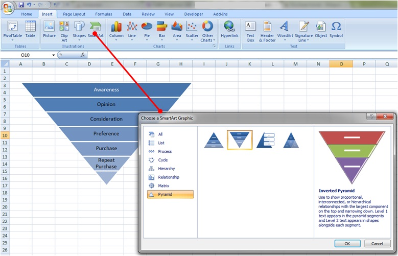 create excel template 2013