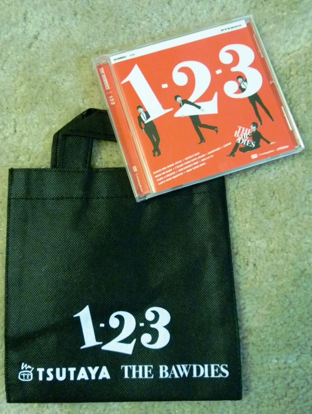 A mini tote bag with The Bawdies new album?! Nice! :)